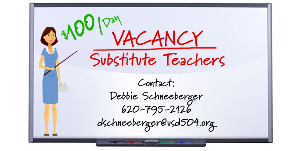 Substitute Teachers Wanted - $100/day