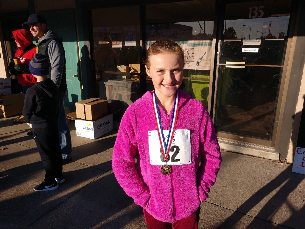 McKayla 5K third place
