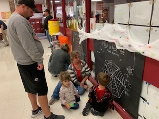 Trick or Read Literacy Night at Nehi